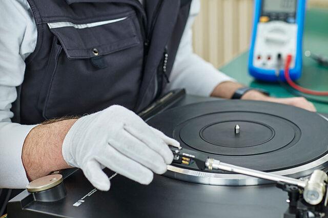 Reparatur Plattenspieler, Audiogeräte, Videogeräte